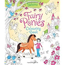 Fairy Ponies Colouring Book (Usborne Reading Programme) by Lesley Sims (2015-09-01)