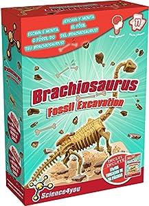 Science4you 602366 - Excavaciones Brachiosaurus, Juguete Educativo y científico