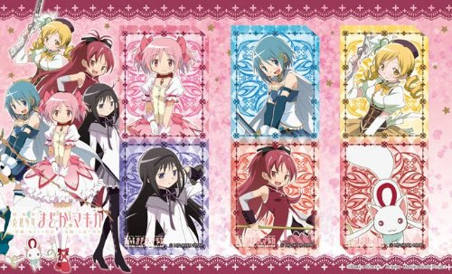 Der Film Magical Girl Madoka Magikakuria Bookmark Set (Japan-Import) (Anime-filme-set)