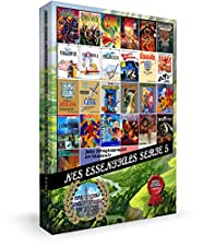 Cartouche pour console NES Essentials Serie 5 : Jeux d'Aventure en Français SERIE LIMITEE INEDITE CARTOUCHE CHROMEE