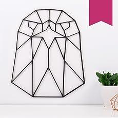 KLEINLAUT 3D-Origamis aus Holz - Wähle Ein Motiv & Farbe