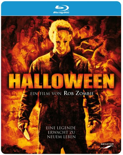 Rob Zombies Halloween (+ DVD) (Steelbook) [Blu-ray] (Scout Compton Halloween)