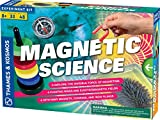 Thames & Kosmos 665050 Science, Explore The Invisible Force of Magnetism, Floating Rings and electromagnetic Fields, 33 Experiments, Ages 8+