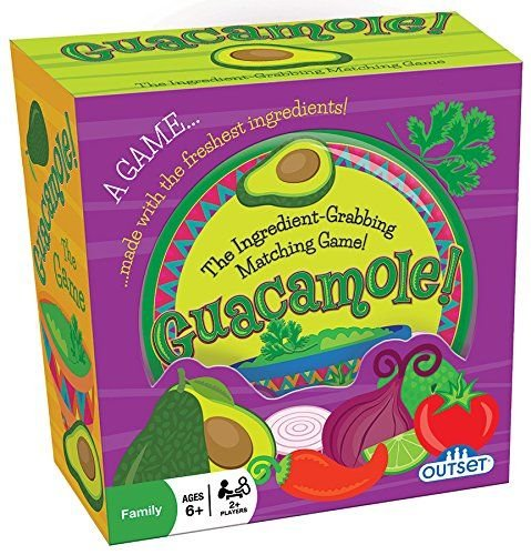 Guacamole Game - Cooperative and Critical Thinking Ingredient Matching Card Game - Ages 6+
