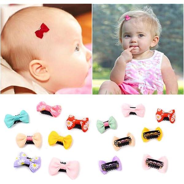 Newborn Baby Girls Toddler Kids Hair Bow Hair Band Headband Grosgrain Ribbon HU