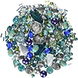 Seascape Tones Blue Green Jewellery Making Starter Beads Mix Set