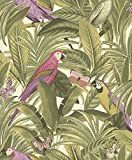 Grandeco VliesTapete Kollektion Botanical, mehrfarbig, BA2202 Vergleich