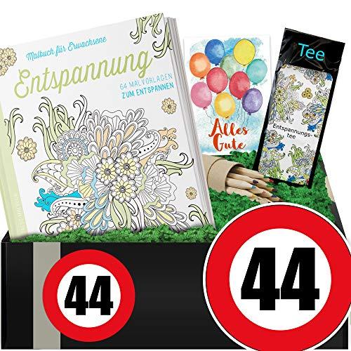 Zahl 44   Entspannungs Set   44 iger Geburtstag Geschenke