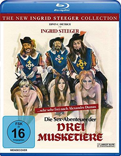 Die Sex-Abenteuer der drei Musketiere (The New Ingrid Steeger Collection) [Blu-ray]