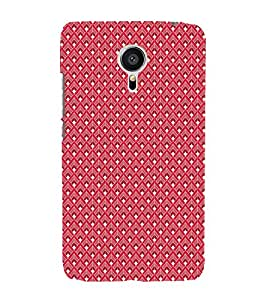 Colourful Pattern 3D Hard Polycarbonate Designer Back Case Cover for Meizu MX5