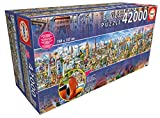 Educa Borras-42000 Around The World Puzzle, Colore Various, 17570