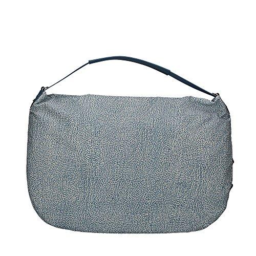 Borbonese 934270296 Shopper Donna Blu