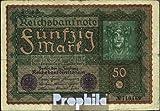 Deutsches Reich Rosenbg.:62c, Reihe 3 1919 50 Mark Wiener (Banknoten für Sammler)