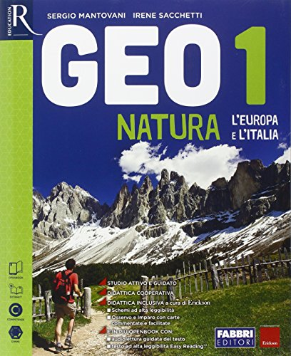 Geonatura. Atlante osservo e imparo-Extrakit-Openbook. Per la Scuola media. Con e-book. Con espansione online: 1