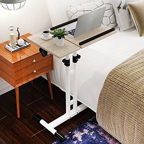 ZXQZ Klapptisch Hebe-Nachttisch Mobiler Tisch Schreibtisch 5 Farben erhältlich 60 * 40cm...