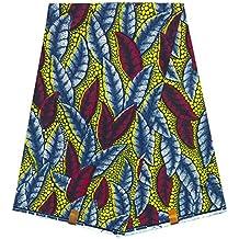 WAX Pagne Tissu Africain collection ORIGINAL HITARGET 6 YARDS Super cire imprimé top qualité 100% pur COTON réf QB