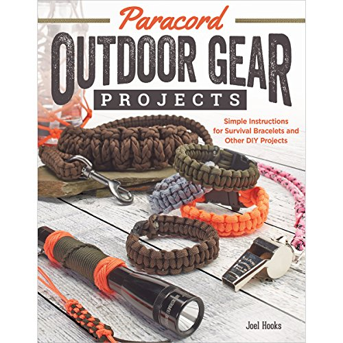 Paracord Outdoor Gear Projects: Simple Instructions for Survival Bracelets and Other DIY Projects por Pepperell Braiding Company