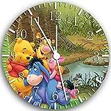 Winnie the Pooh Wanduhr 25,4cm Will Be Nice Gift und Raum Wand Decor X02