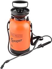 Agricom Spray Master Garden Pressure Sprayer (18 cms X 43 cms, Orange, 5L)