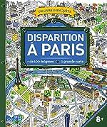 Disparition à Paris - Un livre d'enquête de Les Fées Hilares
