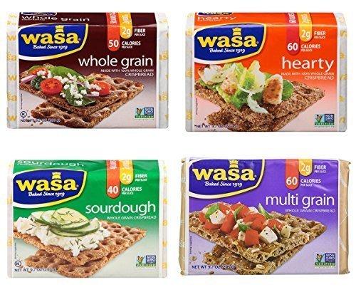 Wasa Crispbread Variety Pack (4 Flavors)