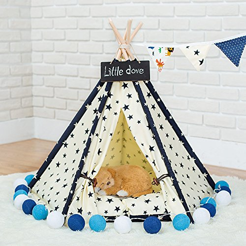 miyare-removable-and-washable-purewhite-pet-kennels-pet-play-house-dog-play-tent-cat-dog-bed-not-inc