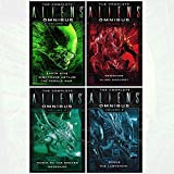 Complete Aliens Omnibus Volume 4 Books Collection Set (One (Earth Hive, Nightmare Asylum, The Female War), Two (Genocide, Alien Harvest),Three (Rogue, Labyrinth),Four (Music of the Spears, Berserker))