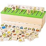 Beetest® Bambini legno Cartoon Apprendimento Precoce Educativo Giocattoli / Conoscenza Classificazione Casella Giochi educativi per oltre 3 Anni Vecchio Bambini