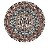 QWEASDZX Moquette personalità Moderna Home Designer Moquette Soggiorno Camera da Letto Tappeto Decorativo 160cm