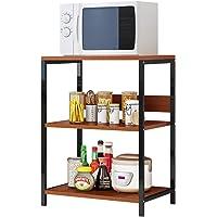 Plasaig - Scaffalature per garage, in metallo, resistente, per riporre oggetti e capannoni, multiuso, per forno a…