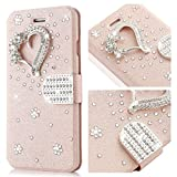 For iPhone 7 Case,L-FADNUT Bling Jewelle...