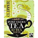 Tente De Thé Vert Clipper Fairtrade Pur (10)