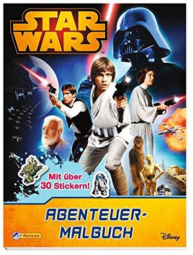 Star Wars: Abenteuer-Malbuch (Star Wars Malbuch)