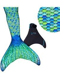 Fin Fun Mermaid Tail, für Mädchen, Jungen, Kinder und Erwachsene Monofin INKLUSIVE