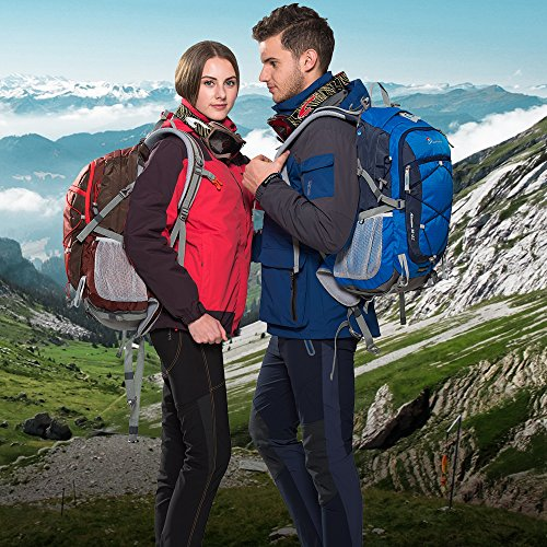 Imagen de mountaintop 35l   de marcha impermeable  de viaje  casual morral de escuela  del deporte 55 x 35 x 25 cm alternativa