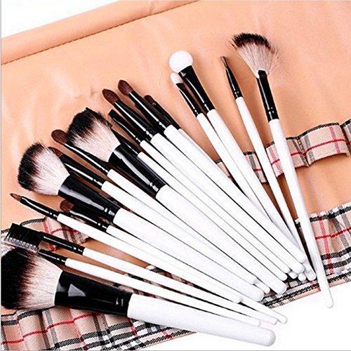Cexin professionel 20 pinceaux maquillage exquis avec trousse pinceaux set