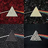 Pink Floyd - Dark Side of the Moon - Sammlungen bereit gerahmt Leinwand - 60 x 60 x 3.8cm (24 x 24 x 1,5 Zoll) - mit Klammern und Rahmer Seil