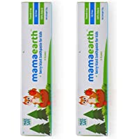 Mamaearth 100 Percent Natural Berry Blast Kids Toothpaste,50g(Pack of 2)