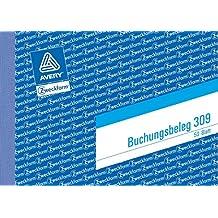 Buchungsbeleg A6quer 50BL ZWECKFORM 309