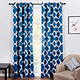 Top Finel Quatrefoil aislante térmico cortinas opacas tratamientos paneles cortina...
