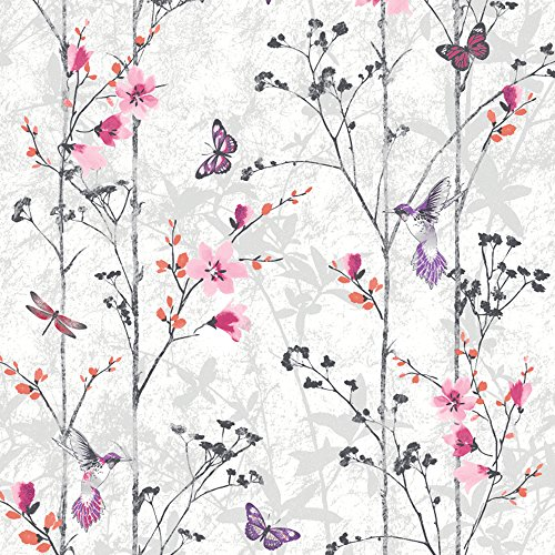 muriva-102550-novelties-eden-wallpaper-rolls-pink