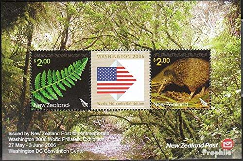 Prophila Collection Neuseeland Block199 (kompl.Ausg.) 2006 Washington (Briefmarken für Sammler) Vögel