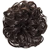 New Scrunchy Bun Up Do Hair Piece Hair Ponytail Extensions P4 Curly Scrunchies-4