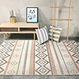 Best Electronic Arts Coffee Tables - YC electronics Household Short-Haired Geometric Rectangular Carpet, Modern Review