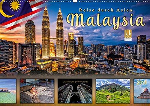 Reise durch Asien - Malaysia (Wandkalender 2019 DIN A2 quer): Malaysia, tropischer Staat im Herzen des asiatisch-pazifischen Raums mit einer ... (Monatskalender, 14 Seiten ) (CALVENDO Orte)