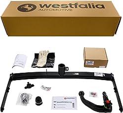Westfalia Abnehmbare Anhängerkupplung für Ibiza ST/Kombi / 3-/5-Türer (BJ 07/08-07/15) im Set mit 13-poligem fahrzeugspezifischen Elektrosatz