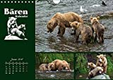 Bärenkalender (Wandkalender 2018 DIN A4 quer): Braunbären - 36 faszinierende Fotos in einem Kalender (Monatskalender, 14 Seiten ) (CALVENDO Tiere) [Kalender] [Apr 01, 2017] Steinwald, Max - Max Steinwald