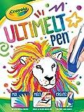 Crayola Ultimelt Pen, Crayon Melting Creative Kit for Arts Crafts, Multisurface