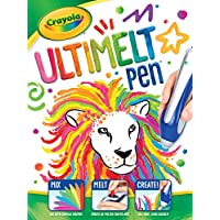 Crayola Ultimelt Pen, Crayon Melting Creative Kit for Arts Crafts, Multisurface