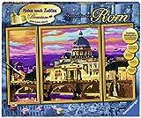 Ravensburger 28981 Romantisches Rom Malen nach Zahlen Trend, 80 x 50 cm